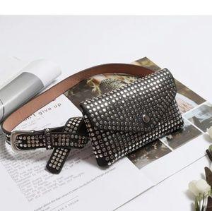 Handbags - Studded Belt bag Fanny pack - ONLY 3 LEFT!